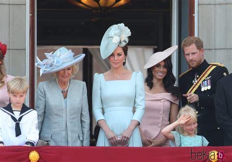 La Duquesa de Cornualles, la Duquesa de Cambridge y los ...