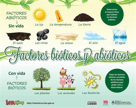 La Ecologia y el Ambiente: Factores bióticos y abióticos