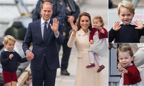 La emotiva despedida de los Duques de Cambridge de Canadá ...