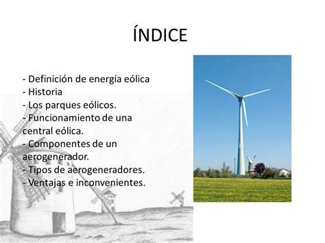 LA ENERGÍA EÓLICA. - ppt video online descargar