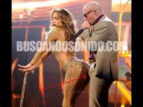 La erección de Pitbull con Jennifer Lopez   YouTube