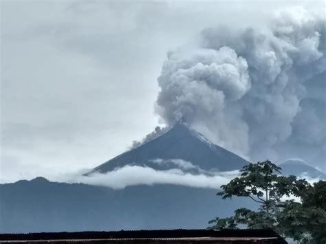 La erupción del volcán de Fuego en Guatemala deja 25 ...