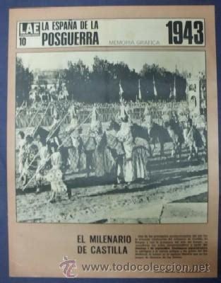 la españa de la posguerra, nº 10. 1943 el milen - Comprar ...