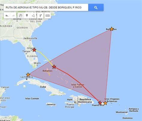 La esquina de Múllix: Cae avión en el Triángulo de Las ...