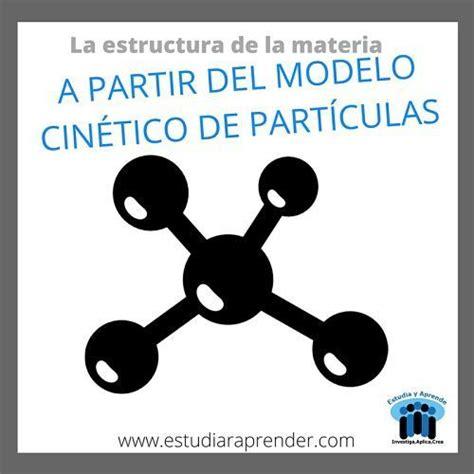 La estructura de la materia a partir del modelo cinético ...