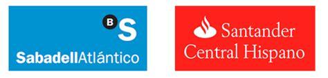 La evolución paralela de las marcas Sabadell y Santander