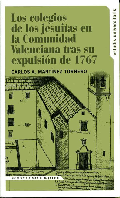La expulsión de los jesuitas de la Comunidad Valenciana ...