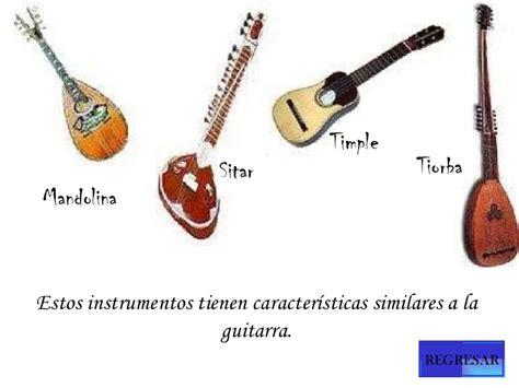 La familia de los instrumentos