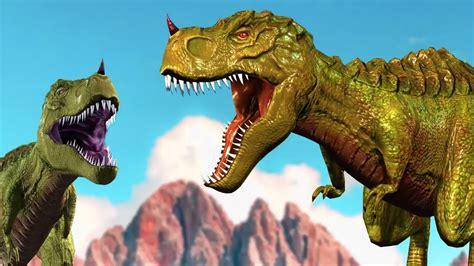 La familia dedo 3D | Cancion Infantil con Los dinosaurios ...