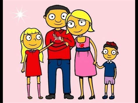 la familia para niños.canción infantil. - YouTube