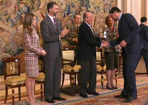 La Familia Real con la Selección de Balonmano   Foto 1