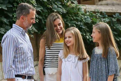 La Familia Real Española inicia sus vacaciones en Mallorca