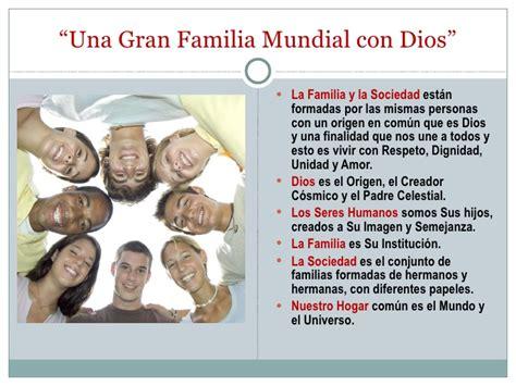 La Familia y la Sociedad