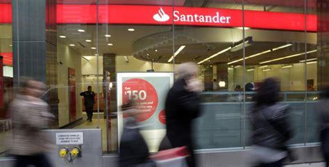 La financiera de coches de Santander en Estados Unidos cae ...