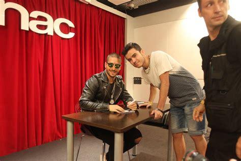 La firma de discos de Maluma en Málaga, en imágenes ...