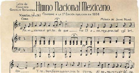 La forma en que se creó el Himno Nacional   Azteca Noticias