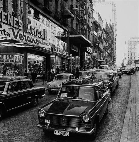 La foto de la semana: calle de la Montera  años 60  70 del ...