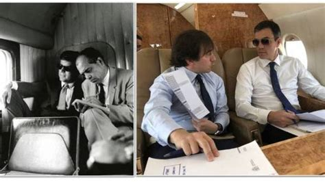 La foto de Pedro Sánchez haciéndose pasar por JFK a bordo ...