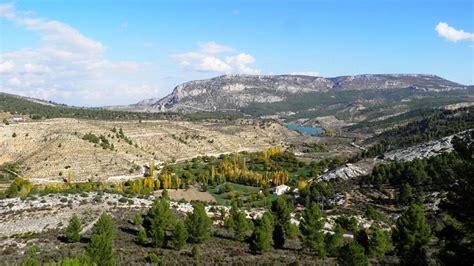 La frondosa Sierra del Segura en Albacete
