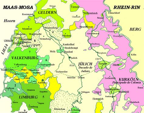 La frontera de los Países Bajos Reales, allende el ...