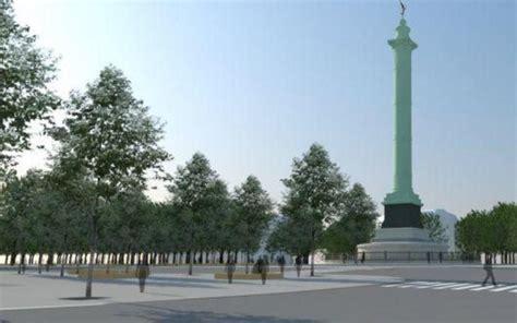 La future place de la Bastille présentée aux Parisiens ...