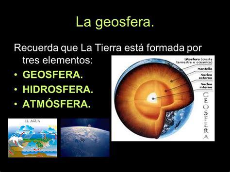 La geosfera.. - ppt descargar