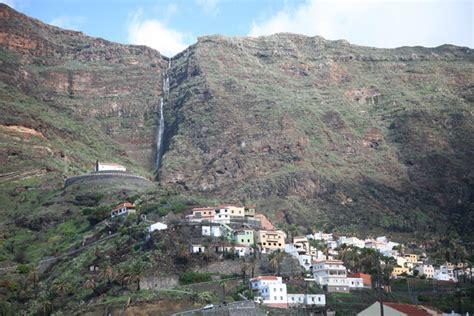La Gomera, Valle Gran Rey, El Retamal, Blick von Guada ...