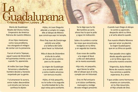 LA GUADALUPANA   Cristina Villarreal Lozano