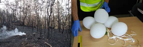 La Guardia Civil investiga globos con bengalas como ...