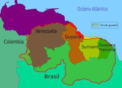 La Guayana Esequiba: Suelos de Surinam, Guyana y la ...