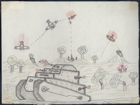 La Guerra Civil, vista a través de los dibujos de los ...