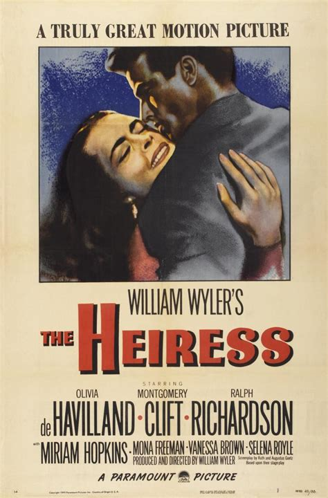 La heredera  1949    FilmAffinity