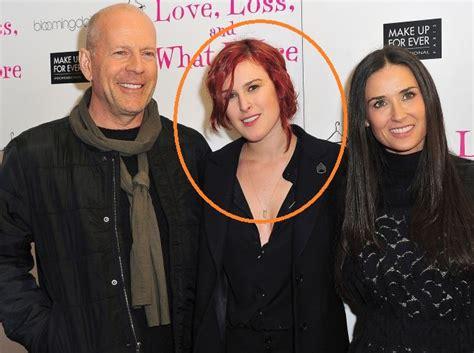 La hija de Bruce Willis y Demi Moore luce irreconocible ...