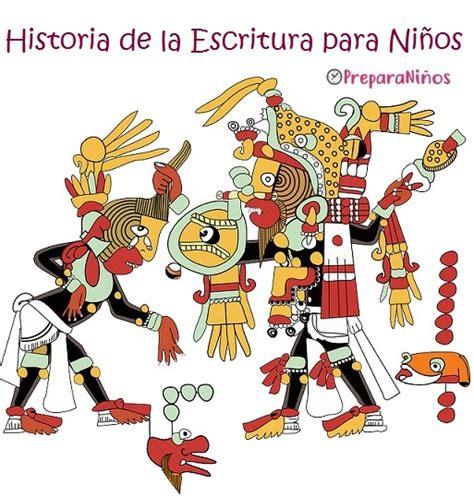 La Historia de la Escritura para Niños: Los Mayas ...