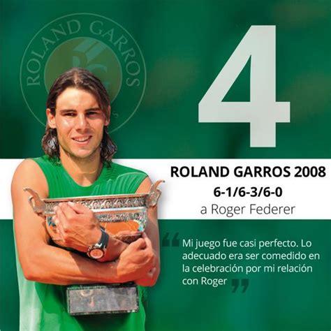La historia de los 10 Roland Garros de Nadal, uno a uno
