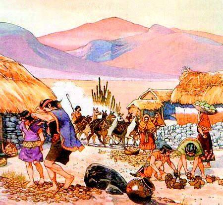 La historia de los incas se suele dividir en varios ...