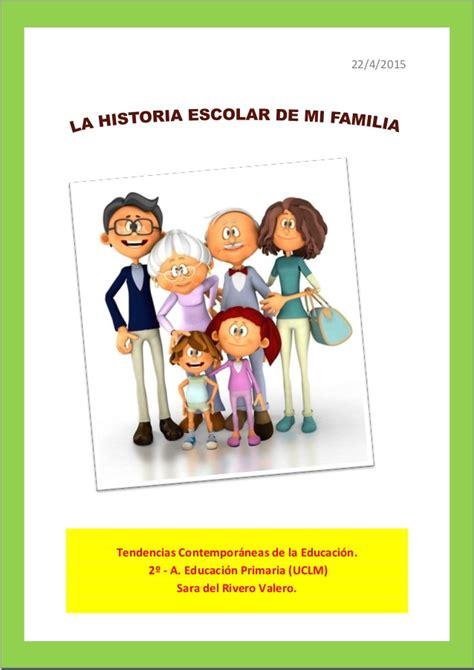 La historia escolar de mi familia
