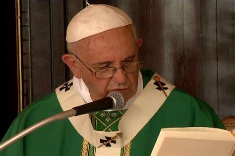 La Homilía del Papa Francisco en la Plaza de la Revolución