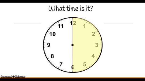 La hora en inglés. - YouTube