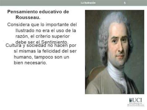 La ilustración y pensamiento educativo de Rousseau,   YouTube