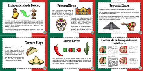 La independencia de México explicada en diseños por etapas ...