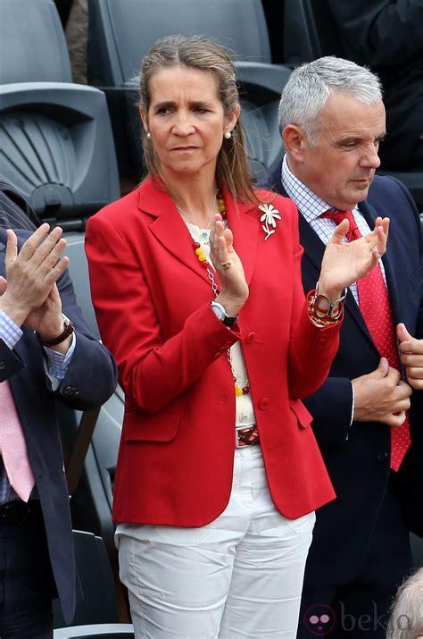 La Infanta Elena en la final de Roland Garros 2012   La ...