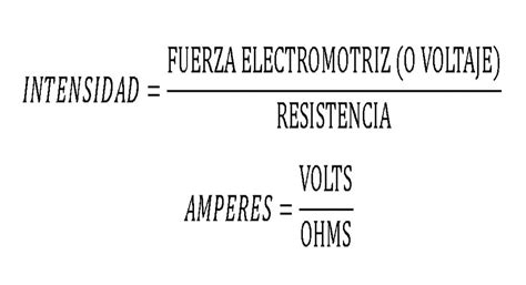 La ley de Ohm - Explicacion sencilla de la formula de la ...