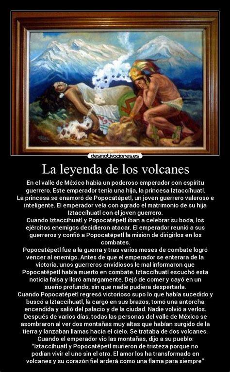 La leyenda de los volcanes   Desmotivaciones