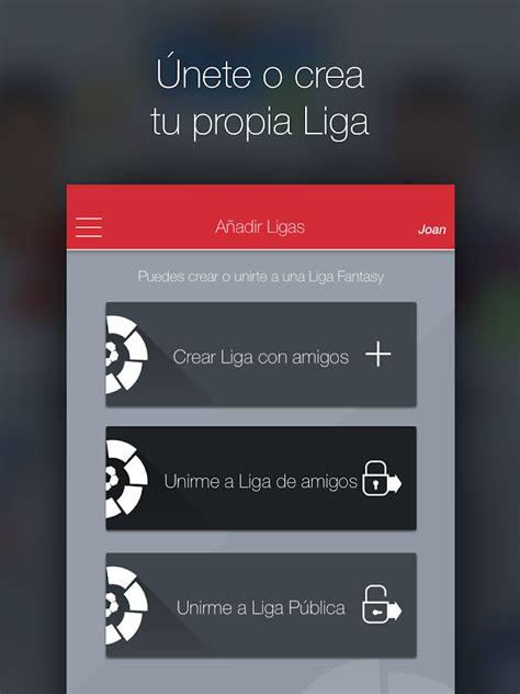 La Liga Fantasy MARCA  Mánager   Aplicaciones de Android ...
