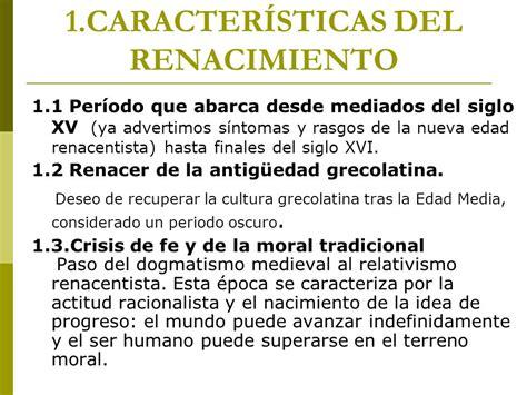 LA LITERATURA DEL SIGLO XVI : el Renacimiento - ppt video ...