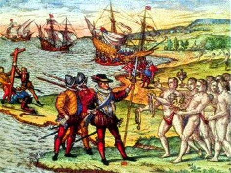 La llegada de los españoles y la época