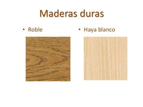 La madera y sus derivados