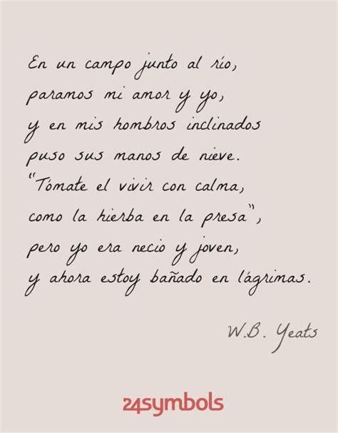 La magia de las palabras. Poesía y citas. W. B. Yeats en ...