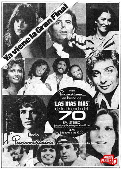 La Más Más de la Década de los 70   Radio Panamericana ...
